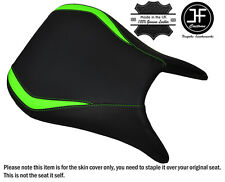 DESIGN 3 L GREEN & BLACK CUSTOM FITS KAWASAKI NINJA ZX6R 98-03 FRONT SEAT COVER