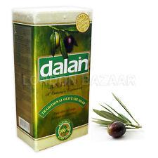 Dalan Olive Oil Soap Turkish Bath Hamam Natural Anti Dundruff Hair Repair x5 Bar