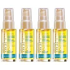 4x Avon Adv. Techniques 360 Nourishment Moroccan Argan Oil Nourishing Hair Serum
