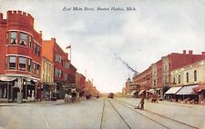 Benton Harbor Michigan~East Main Street~Furniture Store~Street Sweeper Broom~'09