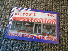 Postcard Walton's 5-10 Wal-Mart Visitors Center Bentonville Arkansas Jenkins Ent