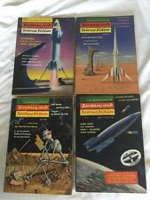 The Magazine of Fantasy and Science Fiction 1957 Jan April July Nov Excellent