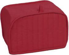 Acolchado Cuatro, 4 Rebanadas Cubierta de tostadora Protección de huellas Polvo