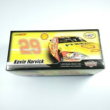 Kevin Harvick 2007 Shell Pennzoil Autographed 1/24 Scale Action Diecast Impala