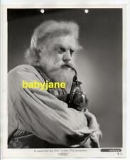 JEAN HERSHOLT ORIGINAL 8X10 PHOTO AS GRANDFATHER SMOKING A PIPE 1937 HEIDI
