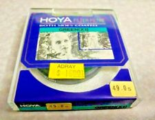 49mm Hoya G X1 Green Lens filter X 1 Japan Coated New Round Color Conversion