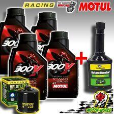 KIT TAGLIANDO RACING MOTUL 300V + FILTRO RC POLARIS TRAIL BOSS 325 2002