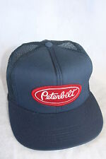 PETERBUILT  TRUCKS  HAT WITH EMBROIDERY PATCH  ADJUSTABLE  , SIZE, COLOR NAVY