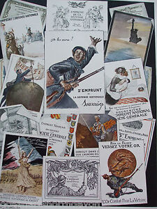 ANTIQUE PRINT 1926 WAR POSTERS FRENCH FRANCE ADVERTISING ADVERTS WW2 HISTORY ART