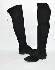 New! Sam Edelman Paloma Over the Knee Boot Black Suede Size 12