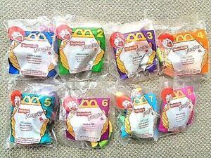 McDonald's 1996 Nickelodeon Tangle MIP Set of 8