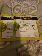 Dr. Scheller Argan & Amaranth Sheet Masks. Set of 2