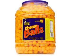 Utz Cheese Balls 35 Oz Tub