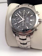 TAG Heuer Calibre 16 Chronorgraph Mens Watch in Excellent Cond. Model CJF2110