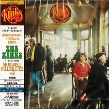 THE KINKS - MUSWELL HILLBILLIES + 2 BONUS TRACKS - JAPAN CD