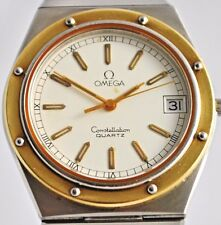 Omega Constellation Chronometer Quartz Bi-Metal Gents Watch
