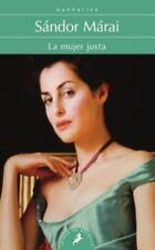 Mujer justa, La (Letras De Bolsillo) (Spanish Edition)