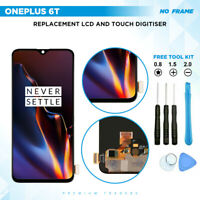 Original AMOLED OnePlus 6T Screen Replacement Digitizer LCD Touch Display Black