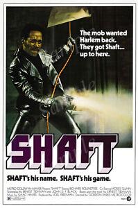 Posters USA - Shaft 1971 Richard Roundtree Movie Poster Glossy Finish - PRM524