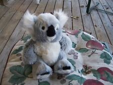 "Ganz Webkinz Koala Bear 9 "" Grey White Hm113 No Code Vgc Soft + Fluffy"