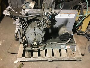Ingersoll Rand Type 30 Reciprocating Air Compressor 3 Phase Max PSI 300