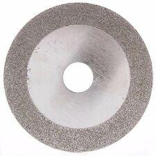 "4"" inch Diamond Coated FLAT Grinding Wheel Sculpting Cutting Disc Grit 60 Coarse"