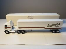 Die cast Ertl Tractor Trailer Bowman Trucking
