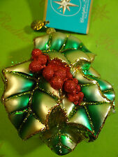 Christopher Radko Hollyberry Bright Glass Ornament