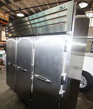 Commercial Freezer True 3-Door on Wheels -Clean- Model Str3F-3S w Key (B)