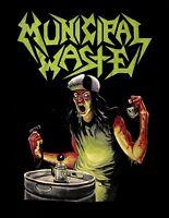 MUNICIPAL WASTE cd cvr THE ART OF PARTYING MW LOGO #2 Official SHIRT XL new