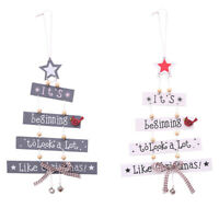 Christmas Christmas Decorations Tree Ornament Patterned Hanging Accessories Q2D3
