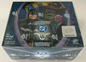 DC Comics Origins VS System Booster Box 1st Edition NEW Sealed TCG CCG Card Game