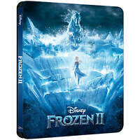 FROZEN 2 Il Segreto di Arendelle STEELBOOK (BLU-RAY + DVD) WALT Disney
