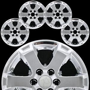 """4 Chrome 18"""" Wheel Skins for SATURN OUTLOOK 07-10 Hub Caps Full Alloy Rim Covers"""