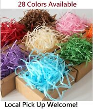 Shredded Shred Color Soft Tissue Paper Hamper Craft Gift Candy Box Basket Filler