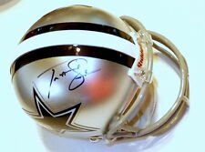 TERRANCE WILLIAMS Cowboys Autographed Mini Helmet including BDS COA #2865