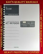 Icom IC-R7000 VHF-UHF Receiver Instruction Manual 😊C-MY OTHER MANUALS😊