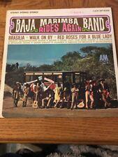 "BAJA MARIMBA BAND ""Rides Again"" Latin Album 1965"