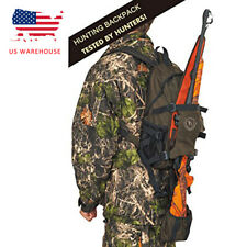Tourbon Hunting Rifle Backpack Outdoor Day Pack Climbing Hiking Camping Gear Bag