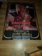 Affiche de cinéma d'époque du film: JAMES BANDE CONTRE O.S.SEX69 (120x160cm)