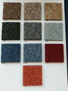 Brand New Boxed Select Carpet Tiles. Grey,Black,Red,Blue - 20 tiles/5SQM £24.99
