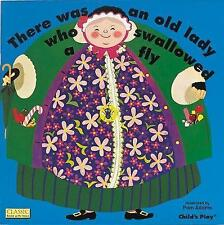 There Was an Old Lady Who Swallowed a Fly (Classic Books with Holes),  | Paperba
