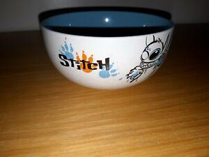 Disney Store Blue And White Stitch Bowl Lilo And Stitch