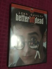Better Off Dead Dvd John Cusack - Curtis Armstrong - Diane Franklin Fast Shipper