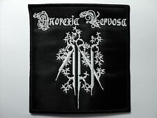 ANOREXIA NERVOSA      EMBROIDERED PATCH