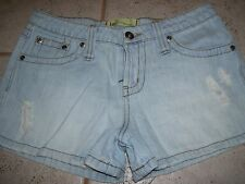 Junior denim shorts by LEI in a size 1, great condition.