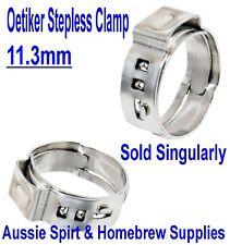 NEW Oetiker Clips 11.3 mm Great for 6 mm I.D X 10mm O.D gas hose