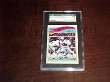 1977 Topps Mexican Football AFC Championship SGC 84 NM