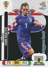 IVAN RAKITIC # RISING STAR 1/30 HRVATSKA CROATIA CARD PANINI ADRENALYN EURO 2012