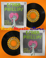 LP 45 7'' ESTHER PHILLIPS I'm the mood for love Too late 1976 italy (*)cd mc dvd